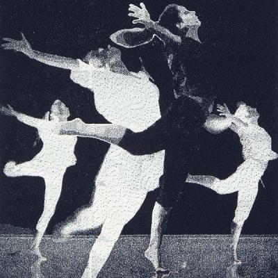 Modern Dance · Fly, Polyester-Lithografie