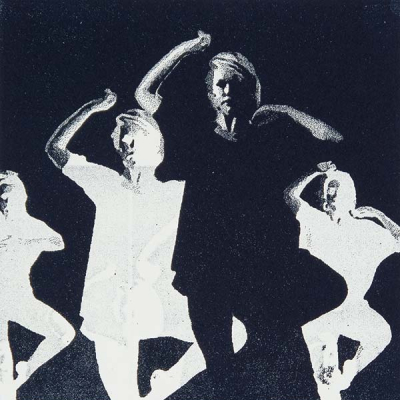 Modern Dance · Stand, Polyester-Lithografie